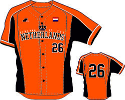 KingJersey011 - Kingdom Team Game Jersey Orange