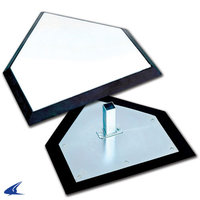 B030I - Champro Pro Style Home Plate with Hollywood Style Anchor System