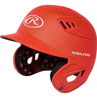 R16RSO - Rawlings Senior R16 Series Orange Crackle Helmet