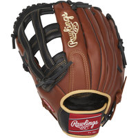 S1275H RH - Rawlings Sandlot Series™ 12.75 inch Outfield Glove (LHT)