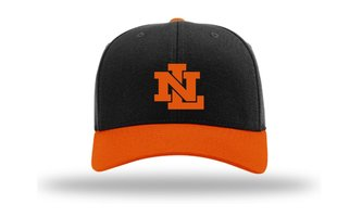 KingCap585NL - Richardson Kingdom Cap Black/Orange NL