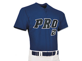 BS2 - Pro Mesh Two Button Jersey