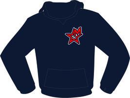 Maastricht Hoodie Navy Blauw