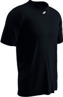 off field shirt 04 / offial ondershirts contender BLACK.  100% dry gear