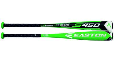 YBB18S4508 - Easton S450 2 5/8 Youth Baseball Bat (-8)