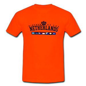 Kingdom Team Polyester T-Shirt Orange