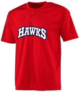 Hawks BP Jersey Mesh rood