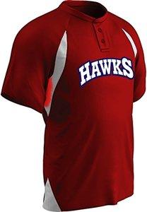 Hawks Practice Jersey rood