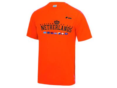 Kingdom Team Dry Gear Shirt 'Kingdom Orange'