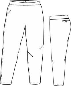 PA SI LADIES (WIT) - SSK Special Ladies Cut Softball Pants