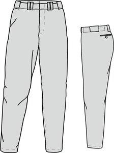 PA GO (GREY) - SSK Gold Quality Baseball/Softball Pants