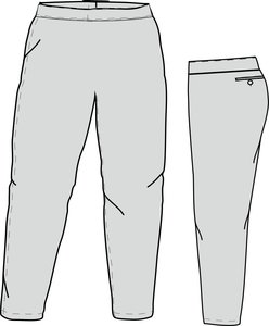 PA SI LADIES (GREY) - Special Ladies Cut Softball Pant