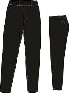 PA PRO (ZWART) - SSK Polyester Baseball/Softball Pants