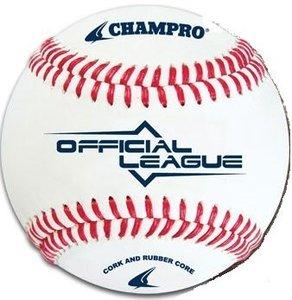 CBB90 - Champro Official League Kurk/Rubber Honkbal