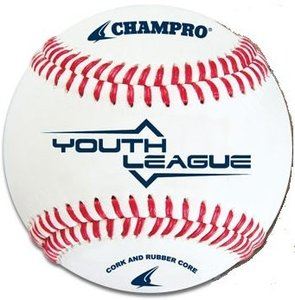 "CBB-38 - Champro Youth League 8.5"" Leren Honkbal"