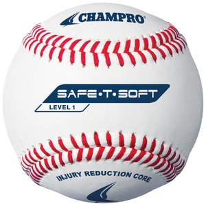 CBB-61 - Champro Safe-T-Soft - Level 1 Synthetic Baseball
