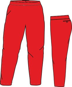 PA SI LADIES (SCARLET) - SSK Special Ladies Cut Softball Pants