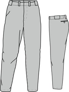 PA PRO (GREY) - SSK Polyester Baseball/Softball Pants