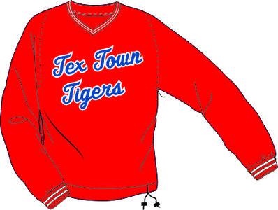 Tex Town Tigers Windbreker