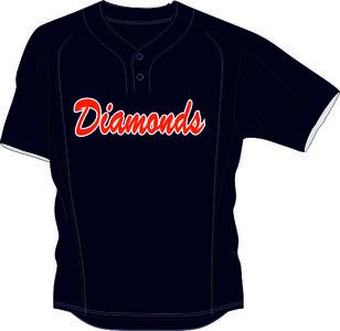 Diamonds Nieuwegein BP Jersey Mesh