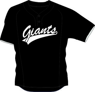 Giants BP Jersey Mesh