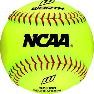 "NC11BB - Worth 11"" NCAA Fast Pitch Softbal"