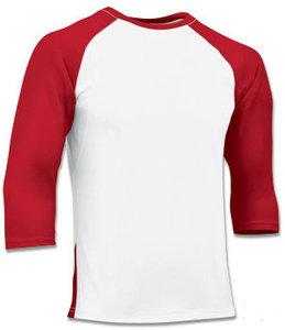 BS24 - Scarlet Polyester 3/4 Sleeve Undershirt