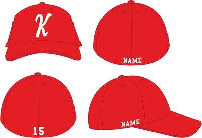 Knickerbockers FLEX CAP Rood