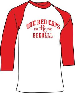 Red Caps Beeball Game Shirt
