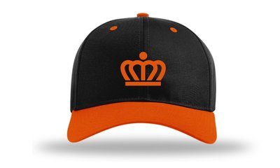 KingCap212Kr - Richardson Kingdom Snapback Cap Kroon